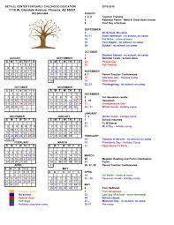 calendar 2018 2019 year round