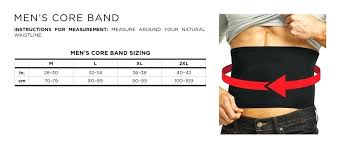 Tommie Copper Core Band Sizing Chart Mens Recovery