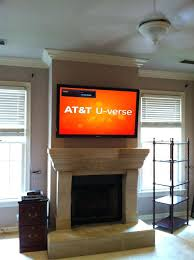 fireplace heat shield interior above gas pictures too high solutions over images deflector for tv