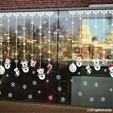 Edoton Fensterbilder Weihnachten Selbstklebend Abnehmbare