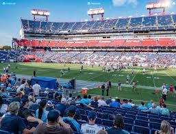 Tennessee Titans Virtual Seating Chart Nissan Stadium Section 133 Seat Views Seatgeek