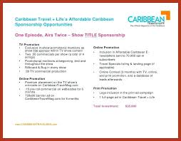 Tv Commercial Proposal Sample Program Proposal Template Free Word Documents Download Show Tv Image