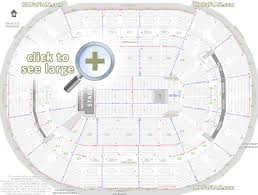 Capitals Interactive Seating Chart Washington Dc Verizon Center Seat Numbers Detailed Seating