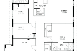 simple drawing of a house two simple house plan drawing free