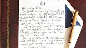 Boyfriend Thank You Letter Sample How To Write A Charming Thank You Note Southern Living 18