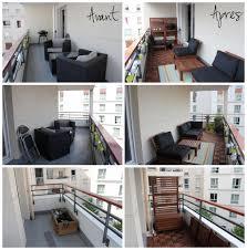 Avant Apr S De Notre Balcon Ikea Applaro Runnen Balcony