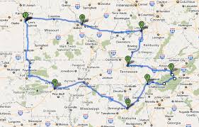 Driving Trip Planner Route Planner Usa Hashtag Bg