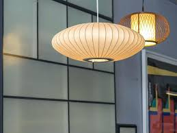 nelson pendant lamp mid century modern nelson bubble lamp for nelson criss cross ball pendant