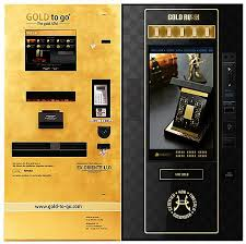 Gold Vending Machine Locations Magnificent Candy Bar Or Gold Bar Two Companies Offer Solid Gold Via Vending