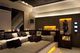 Small Picture Wonderful Home Theater Decor Picture Basement Sofa Para Cinema