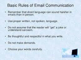 Email Etiquette Presentation