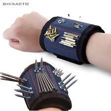 <b>GHIXACTO Polyester Magnetic Wristband</b> Portable Tool Bag ...