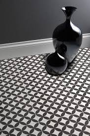 black white floor tiles for hallway or lounge by laura ashley