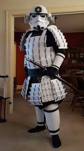 making a set of stormtrooper armor usually involves vacuum forming plastic into shape but redditor baconboyrlz1 went another route