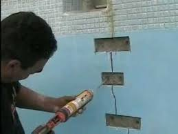 wall crack repair. Wonderful Repair Concrete Crack Repair Using The Torque Lock Structural Method   YouTube And Wall T
