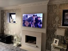 latest mounting tv above gas fireplace picture