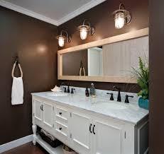 double vanity lighting. Cottage Style Bathroom Lighting Beach With Dark Double Vanity T