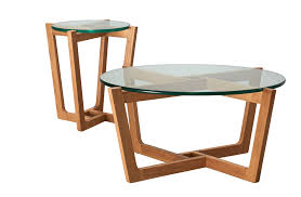 new monterey natural coffee amp side table set