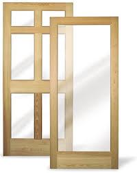fixed glass doors