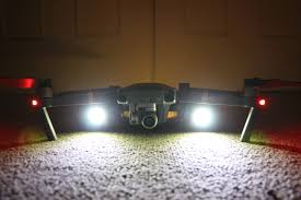 Mavic Pro Platinum Lights Lighting Up The Skies With Lume Cube Dronelife
