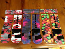 Nike Elite Socks With Designs Custom Nike Elite Socks From S S Custom Matching