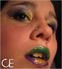 top 10 festive makeup tutorials in mardi gras colors