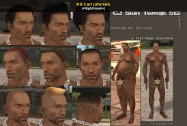 HD Carl Johnson [Grand Theft Auto: San Andreas] [Skin Mods]