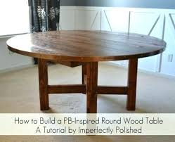 diy round dining table round high top table the most round wood table tutorial with round diy round dining table