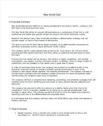 Business Plan Template Free Download Bank Word Strategic Exit ...
