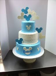 Zeeu0027s Cake Designs  Baby Shower CakesBaby Mickey Baby Shower Cakes