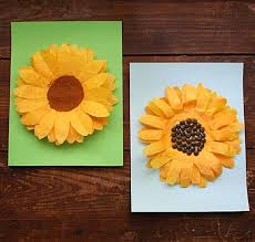 If you want an absolutely gorgeous wreath without spending too much, you'll love this winter coffee filter wreath. Coffee Filter Sunflowers A Fun Sunflower Craft For Kids