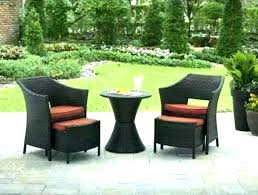 outdoor chair with ottoman. Outdoor Chair And Ottoman Wicker Patio Furniture With Hidden Charming