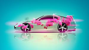toyota supra jdm fantasy flowers car