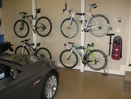 Image of: Garage Bike Rack Diy