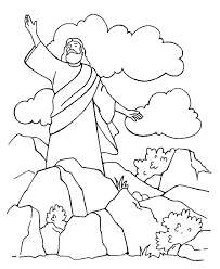 Small Picture Satan Tempts Jesus Coloring Page