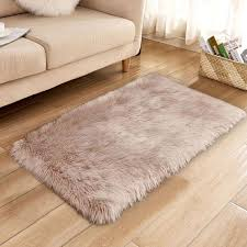 large white faux fur rug cream throw fake rugs blanket whole interior