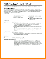 Examples Of Perfect Resumes Simple Resume And Cover Letter Perfect Resume Example Sample Resume
