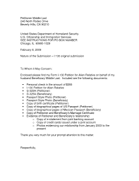 uscis form i 130 uscis cover letter sample coles thecolossus co