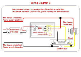 voltmeter wiring diagram wiring diagram and hernes need wiring diagram for bo dc 100v 10a meter drok