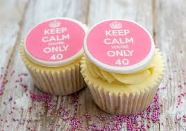 Keep Calm Birthday Cupcake Decorations By Just Bake