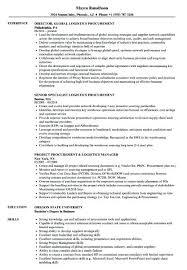 Procurement Resume Keywords Officer Purchase Manager Sample Resumes
