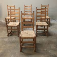 french dining chairs. Set Of 6 Antique Rustic Country French Dining Chairs