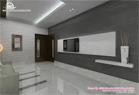 Black And White Themed Interior Designs Kerala Home Design And - Kerala house interiors