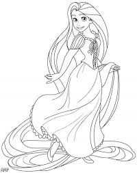 Small Picture Disney Princess Coloring Pages Rapunzel Coloring Pages Online