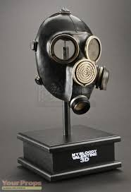Mask Display Stand My Bloody Valentine The Miners Hero Gas Mask Display original 41