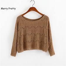 <b>MERRY PRETTY Autumn</b> New Women Short Sweater Casual ...