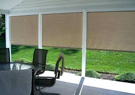 outdoor roll up blinds glamorous curtains vinyl photo of shades patio s