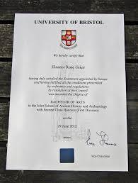 University Degree University Degree Certificate
