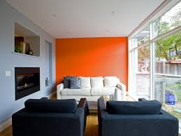 Accent Wall In Living Room orange accent wall living room living room design inspirations 4789 by xevi.us