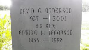Edwina L Jacobson Anderson (1935-1998) - Find A Grave Memorial